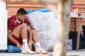 تیم فوتبال پرسپولیس در حالی مقابل استقلال صف آرایی میکند که مهاجم خارجی این تیم یعنی براندائو جونیور با انگیزه بسیار بالا در تمرینات شرکت کرده
