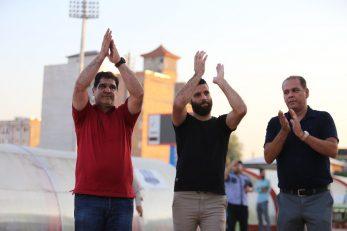 از قائمشهر، محمد عباس زاده مهاجم محبوب قائمشهری ها امیدوار است که اولین گل خود در لیگ برتر امسال را در قائمشهر به ثبت برساند.