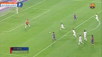 بارسلونا ؛ گل های دیدنی از جوان ترین گلزنان در تاریخ باشگاه بارسلونا