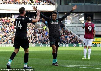 خلاصه بازی برنلی 0-3 لیورپول لیگ برتر انگلیس 2019/2020
