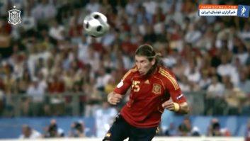 167 امن بازی رسمی سرخیو راموس برای تیم ملی اسپانیا