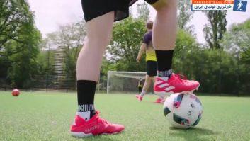 تست کفش های جدید لیونل مسی فوق ستاره آرژانتینی بارسلونا