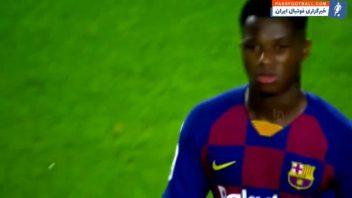 فاتی ؛ بررسی عملکرد آنسو فاتی در دیدار بارسلونا برابر والنسیا ؛ خبرگزاری پارس فوتبال