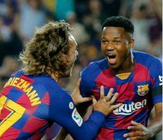 خلاصه بازی بارسلونا 5-2 والنسیا لالیگا 2019/2020
