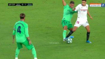 بررسی عملکرد ادن هازارد در دیدار رئال مادرید برابر سویا
