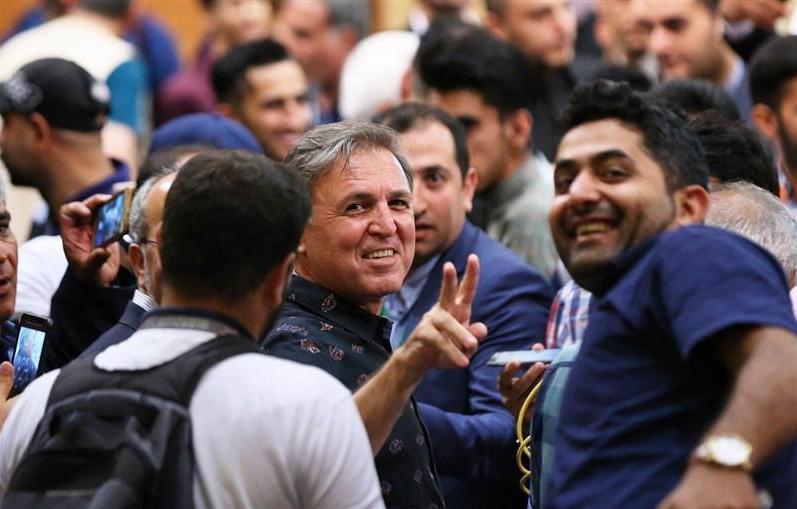 جواد زرینچه : امیدوارم پیروز میدان ما باشیم، بردهای استقلال از امروز شروع میشود