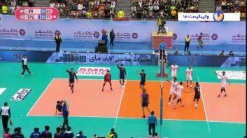 خلاصه بازی والیبال ایران 3-0 چین تایپه قهرمانی آسیا 2019