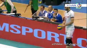 خلاصه بازی والیبال ایران 3-0 چین قهرمانی آسیا 2019