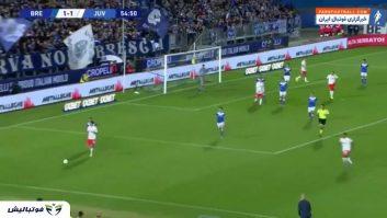 خلاصه بازی برشا 1-2 یوونتوس سری آ ایتالیا 2019/2020
