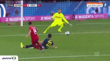 خلاصه بازی بایرن مونیخ 4-0 کلن بوندس لیگا آلمان 2019/2020