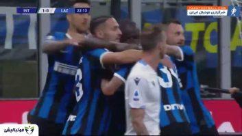 خلاصه بازی اینترمیلان 1-0 لاتزیو سری آ ایتالیا 2019/2020