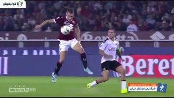 میلان ؛ خلاصه بازی تورینو 2-1 آث میلان سری آ ایتالیا 2019/2020