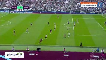 منچستریونایتد ؛ خلاصه بازی وستهام 2-0 منچستریونایتد لیگ برتر انگلیس 2019/2020
