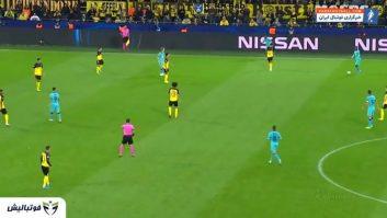 فاتی ؛ عملکرد آنسو فاتی بازیکن باشگاه بارسلونا در دیدار برابر دورتموند