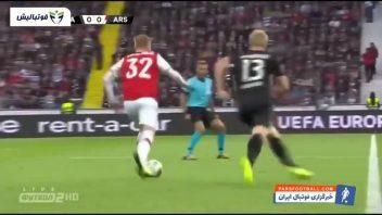 خلاصه بازی فرانکفورت 0-3 آرسنال لیگ اروپا 2019/2020