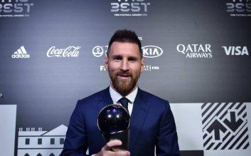 مسی برنده جایزه مرد سال فیفا 2019