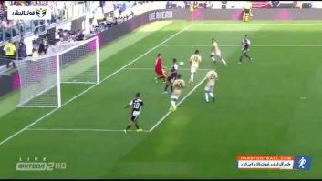 خلاصه بازی یوونتوس 2-0 اسپال سری آ ایتالیا 2019/2020