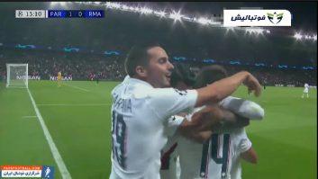 رئال مادرید ؛ خلاصه بازی پاری سن ژرمن 3-0 رئال مادرید لیگ قهرمانان اروپا
