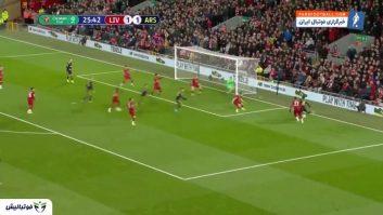 خلاصه بازی لیورپول 5-5 آرسنال جام اتحادیه انگلیس 2019/2020