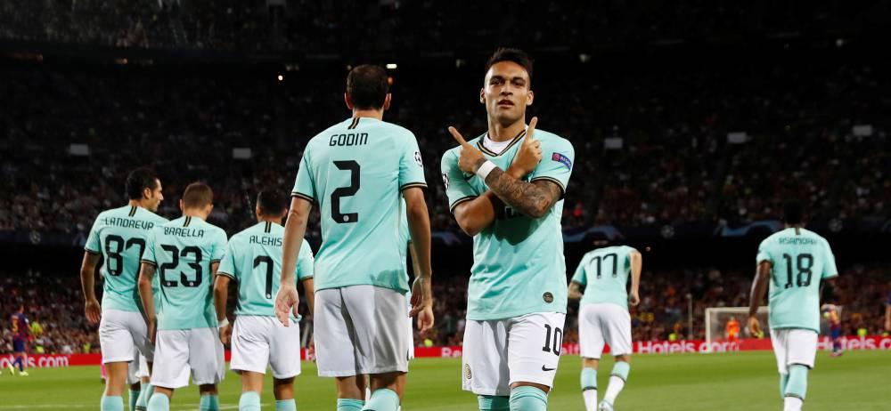 لائوتارو مارتینز موفق شد با فراری دیدنی در دقیقه دوم دروازه بارسلونا را باز کند تا بعد از پاتو، زننده سریع ترین گل در لیگ قهرمانان لقب گیرد.