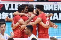 ایران ؛ پیروزی ملی پوشان والیبال در دیدار برابر استرالیا جام جهانی والیبال ژاپن 2019