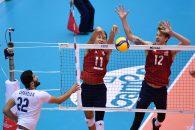 برتری تیم والیبال آمریکا برابر ایران در رقابت های جام جهانی 2019 ژاپن