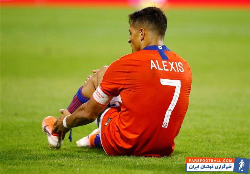 برخلاف آنچه در مورد مصدومیت الکسیس سانچس در جریان بازی شب گذشته تیم ملی شیلی مقابل کلمبیا تصور میشد مصدومیت الکسیس سانچس جدی است.