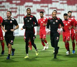 ، تمرین تیم ملی بحرین پیش از ملی پوشان ایران در ساعت ۱۸ انجام می شود و پس از آن تیم ملی ایران ساعت ۱۹:۳۰ آخرین تمرین خود را در ورزشگاه اصلی برگزار خواهد کرد.