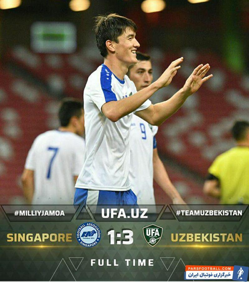 تیم فوتبال ازبکستان