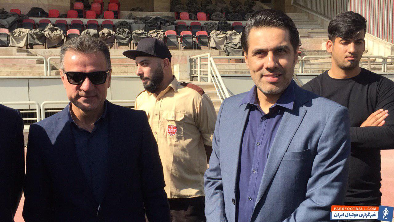 انصاری فرد، محسن خلیلی را از سمتش برکنار و به جای او افشین پیروانی را به عنوان سرپرست تیم منصوب کرد تا کاپیتان سابق قرمزها دوباره به این تیم بازگردد.