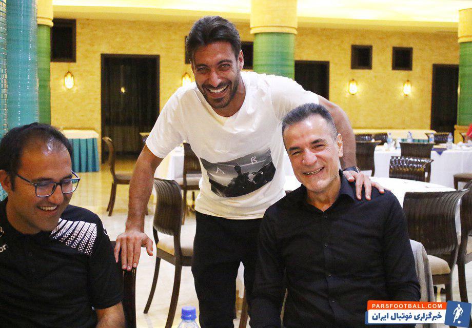 محمدحسن انصاری فرد در اردوی تیم پرسپولیس حضور یافت تا همچون بازی با ماشین سازی، تراکتور، سپاهان و... پای ثابت اردوی تیم باشد.