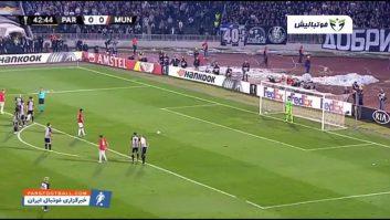 منچستریونایتد ؛ خلاصه بازی پارتیزان 0-1 منچستریونایتد لیگ اروپا 2019/2020