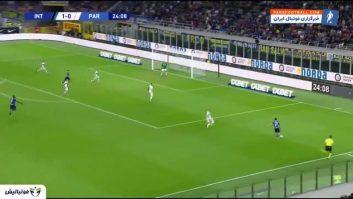اینتر ؛ خلاصه بازی اینترمیلان 2-2 پارما سری آ ایتالیا 2019/2020