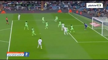 خلاصه بازی رئال مادرید 5-0 لگانس لالیگا اسپانیا 2019/2020
