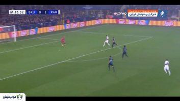 خلاصه بازی کلوب بروژ 0-5 پاری سن ژرمن لیگ قهرمانان اروپا