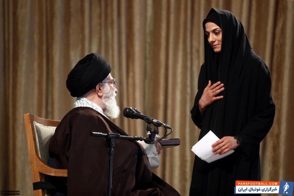 هاشمی : پنجمین مدال طلای جهانم را به رهبر معظم انقلاب و ملت شریف ایران تقدیم می کنم