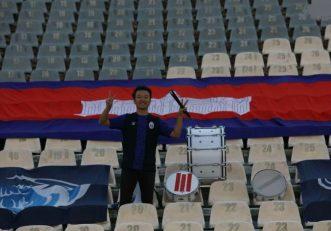 نکته جالب استقرار یک نفر هوادار تیم ملی کامبوج در جایگاه هواداران میهمان بود در انتها تیم ملی کامبوج با نتیجه ۱۴ بر صفر مقابل ایران شکست خورد.