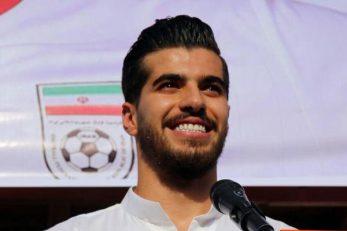 پیام تبریک تولد سیاوش خیرابی برای سعید عزت اللهی