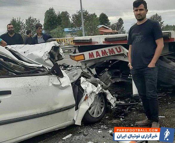 محمد احمدزاده علاقه خاصی به شغل دوم خود یعنی رانندگی با ماشین سنگین دارد دچار سانحه شد محمد احمدزاده در محل قانونی پارکینگ جاده توقف کامل داشته است.