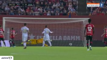 خلاصه بازی مایورکا 1-0 رئال مادرید لالیگا اسپانیا 2019/2020