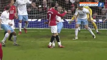 رونالدو ؛ 5 گل برتر کریستیانو رونالدو در منچستریونایتد رقابت های لیگ برتر انگلیس