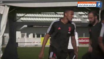 یوونتوس ؛ تمرین باشگاه یوونتوس قبل از دیدار برابر بلونیا رقابت های سری آ