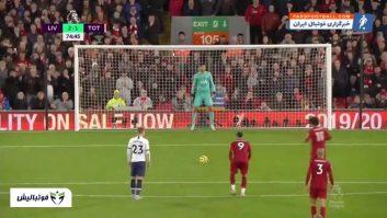 خلاصه بازی لیورپول 2- 1 تاتنهام لیگ برتر انگلیس 2019/2020