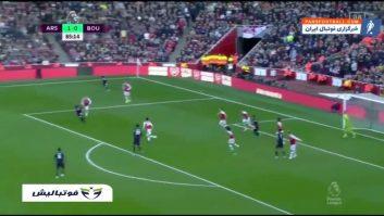 آرسنال ؛ خلاصه بازی آرسنال 1- 0 بورنموث لیگ برتر انگلیس 2019/2020