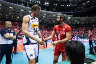 ایران ؛ شکست سه بر دو تیم ملی والیبال در دیدار برابر ایتالیا جام جهانی والیبال 2019 ژاپن