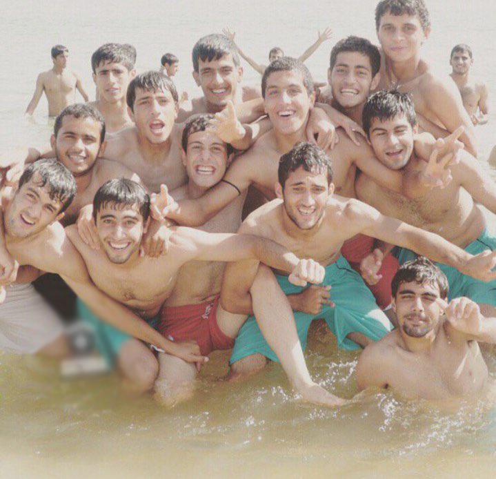 رضایی ؛ تصویر آبتنی از کاوه رضایی ، پیام صادقیان ، اکبر ایمانی و پور علی گنجی
