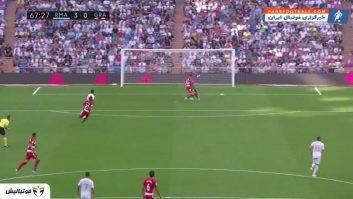 خلاصه بازی رئال مادرید 4-2 گرانادا لالیگا اسپانیا 2019/2020