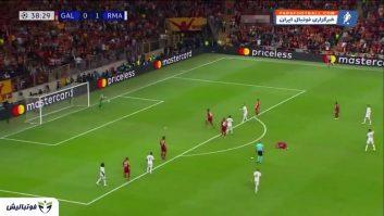 خلاصه بازی گالاتاسرای 0-1 رئال مادرید لیگ قهرمانان اروپا 2019/2020