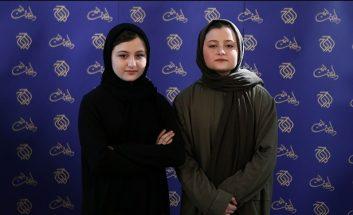 تنابنده ؛ تصویری از سارا و نیکا بازیگران سریال پایتخت در ورزشگاه آزادی