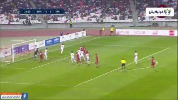 خلاصه بازی بحرین 1-0 ایران مرحله انتخابی جام جهانی 2022 قطر